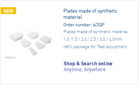 DANmed_Plates made of synthetic material