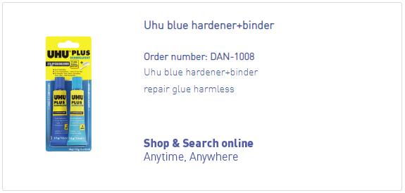 DANmed_Uhu blue hardener_bindert